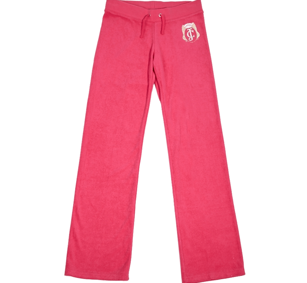 JUICY COUTURE KIDS - Παιδικό παντελόνι JUICY COUTURE φούξια