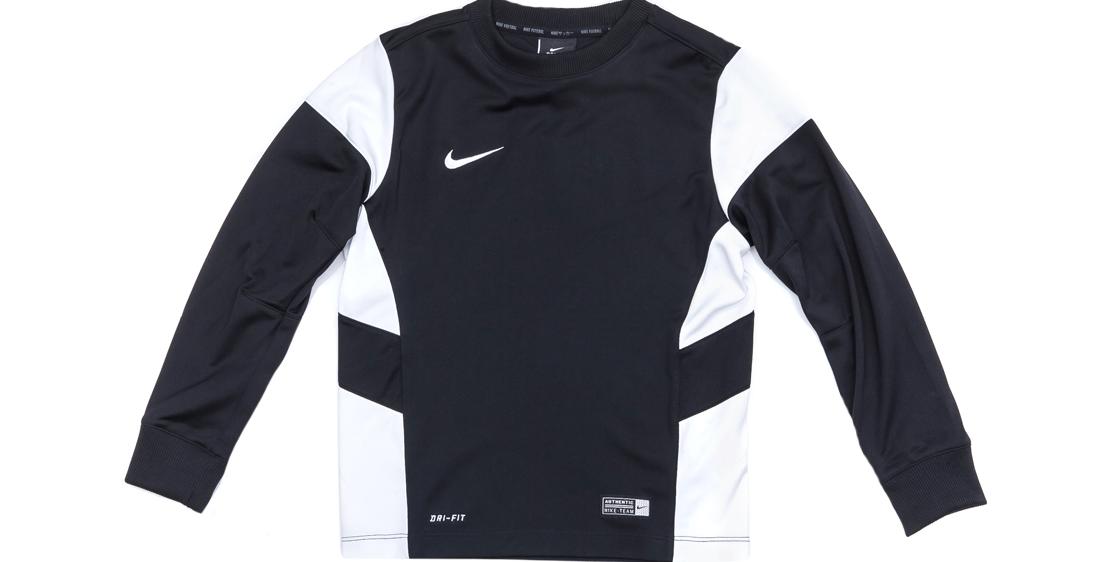 NIKE - Παιδική μπλούζα Nike λευκή-μαύρη