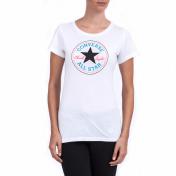 Converse CONVERSE - Γυναικεία μπλούζα Converse λευκή 2018