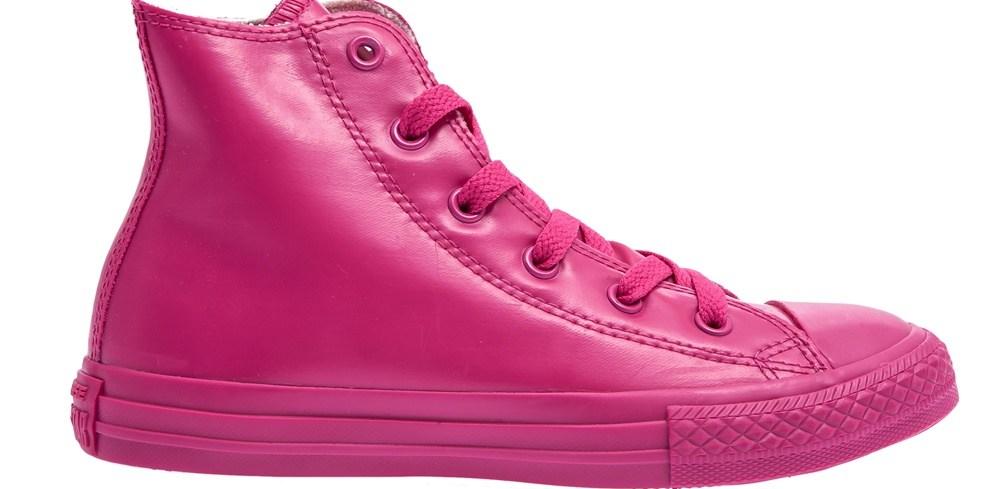 CONVERSE - Παιδικά παπούτσια Chuck Taylor φούξια