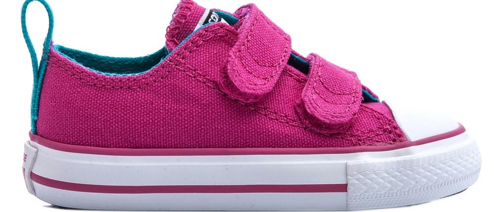 CONVERSE - Βρεφικά παπούτσια Chuck Taylor φούξια