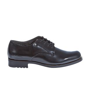 G-STAR RAW - Γυναικεία παπούτσια Manor Derby Shine μαύρα