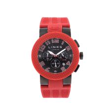 LINKS OF LONDON - Unisex ρολόι SPORT EXCESS LINKS OF LONDON κόκκινο-μαύρο