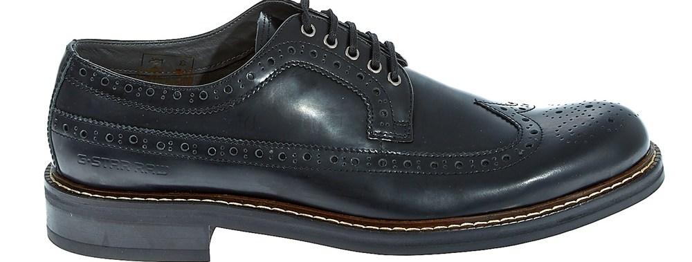 G-STAR RAW - Ανδρικά παπούτσια Trent Longwing μαύρα