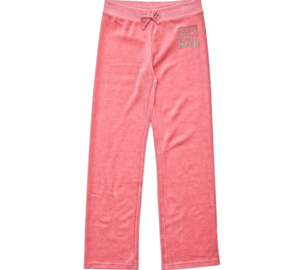 JUICY COUTURE KIDS - Παιδικό παντελόνι JUICY COUTURE ροζ