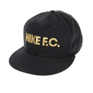 NIKE - Αθλητικό καπέλο NΙKΕ FC TRUE CAP CLASSIC μαύρο-χρυσό
