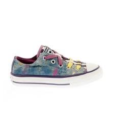 CONVERSE - Παιδικά παπούτσια Chuck Taylor All Star Loophole μπλε