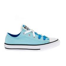 CONVERSE - Παιδικά παπούτσια Chuck Taylor All Star Loophole μπλε-σιέλ