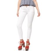 GUESS - Γυναικείο παντελόνι Guess λευκό