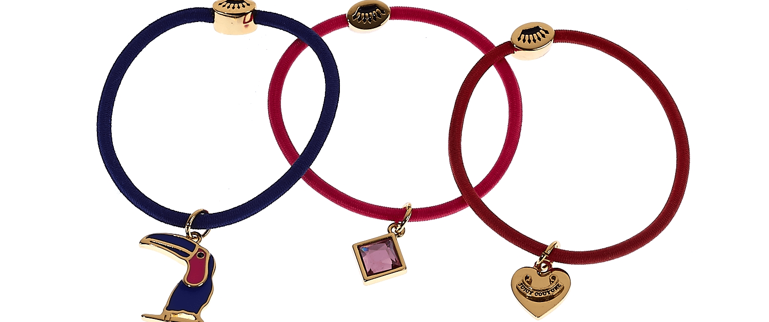 JUICY COUTURE - Σετ λαστιχάκια Juicy Couture