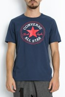 CONVERSE - Ανδρική κοντομάνικη μπλούζα CONVERSE μπλε image