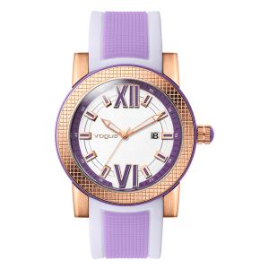 VOGUE - Γυναικείο ρολόι VOGUE μωβ