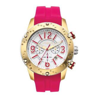 VOGUE - Γυναικείο ρολόι VOGUE φούξια