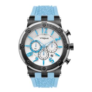 VOGUE - Γυναικείο ρολόι VOGUE γαλάζιο