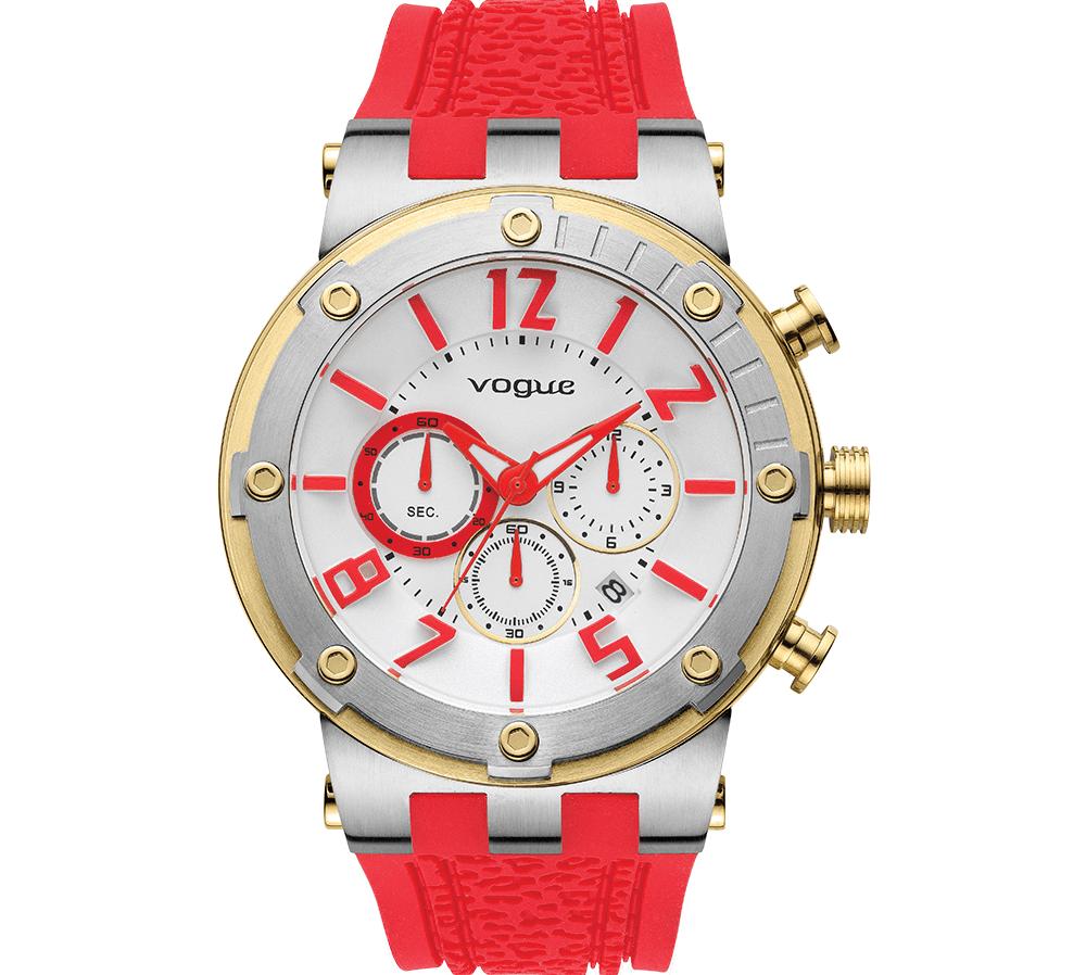 VOGUE - Γυναικείο ρολόι VOGUE κόκκινο