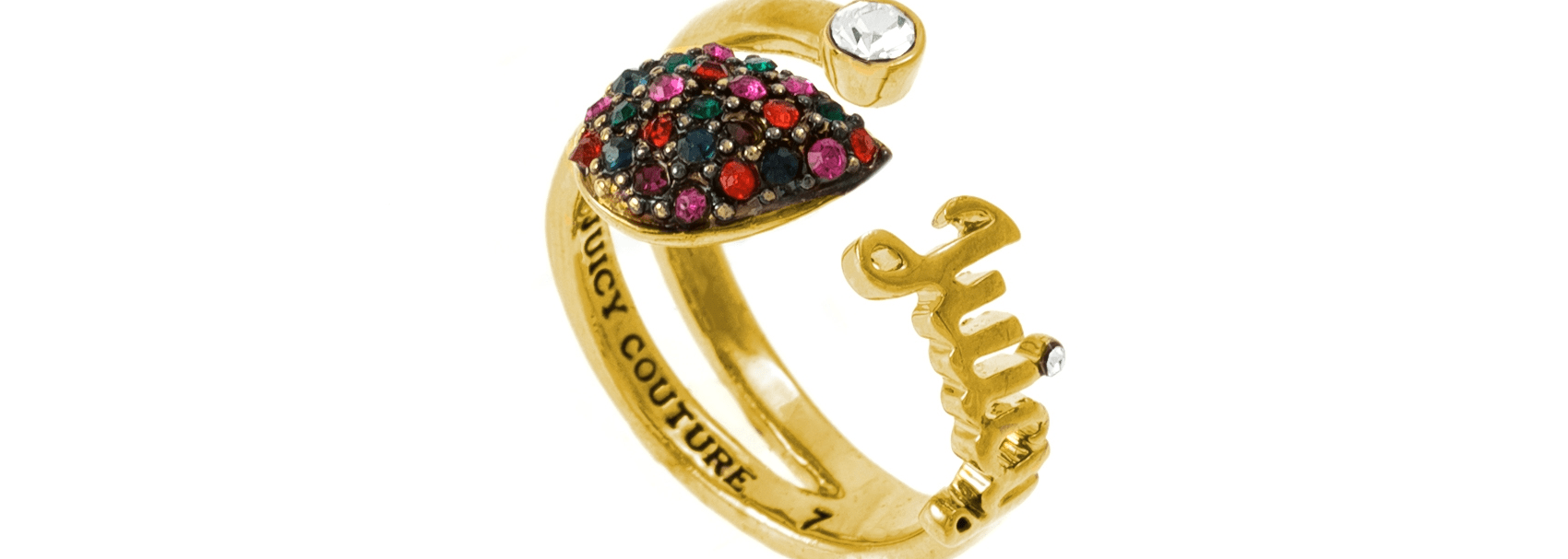 JUICY COUTURE - Δαχτυλίδι GYPSET RING FACTORY OUTLET