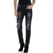 GUESS - Γυναικείο τζιν παντελόνι GUESS μαύρο