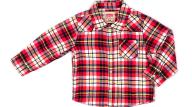 LEVI'S KIDS - Παιδικό πουκάμισο LEVI'S KIDS κόκκινο-λευκό