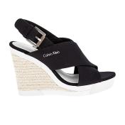 CALVIN KLEIN JEANS - Γυναικείες πλατφόρμες Calvin Klein Jeans μαύρες