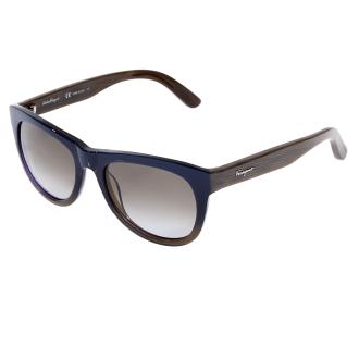 SALVATORE FERRAGAMO - Γυναικεία γυαλιά ηλίου SALVATORE FERRAGAMO μπλε