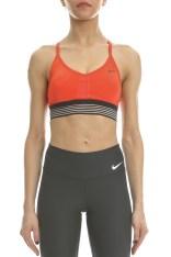 NIKE - Γυναικείο αθλητικό μπουστάκι Nike INDY COOLING κόκκινο