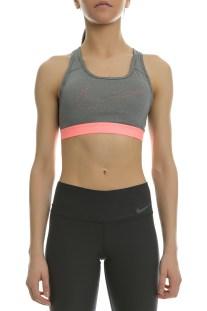 NIKE - Γυναικείο αθλητικό μπουστάκι Nike PRO CLASSIC COOLING γκρι