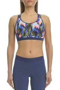 NIKE - Γυναικείο αθλητικό μπουστάκι Nike PRO Fierce GEO PRSM πολύχρωμο