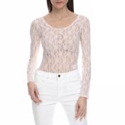 JUICY COUTURE - Γυναικείο ολόσωμο κορμάκι με δαντέλα Juicy Couture ροζ