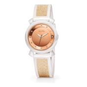 FOLLI FOLLIE - Γυναικείο ρολόι Folli Follie λευκό