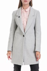 SCOTCH & SODA - Γυναικείο παλτό Maison Scotch γκρι