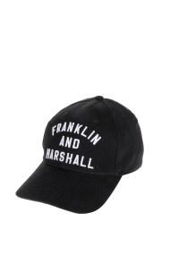 FRANKLIN & MARSHALL - Καπέλο Franklin & Marshall χακί