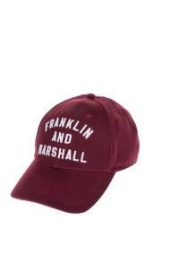 FRANKLIN & MARSHALL - Unisex καπέλο FRANKLIN & MARSHALL κόκκινο