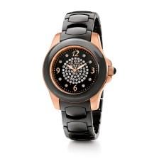 FOLLI FOLLIE - Γυναικείο ρολόι Folli Follie με κεραμικό μπρασελέ μαύρο