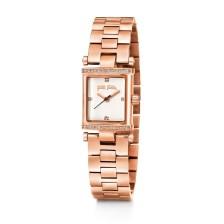 FOLLI FOLLIE - Γυναικείο ρολόι Folli Follie με μπρασελέ ροζ - χρυσό