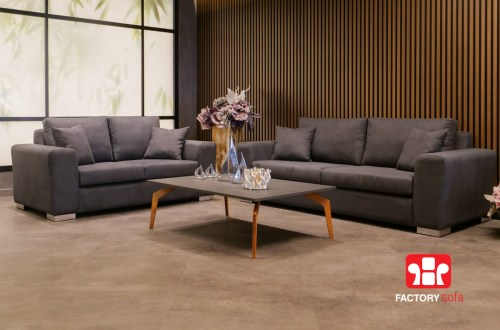 Σαλόνι Τριθέσιο Διθέσιο Andros   Σαλόνια Καναπέδες Factory Sofa Προσφορές