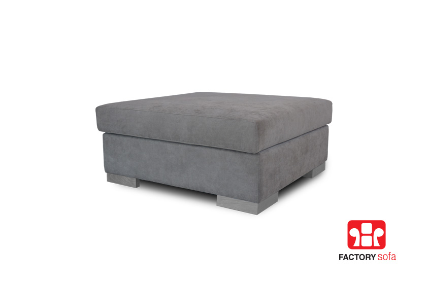 ANDROS SE Sofa Bed & Ottoman 2.35 Χ 0.90m • Waterproof Fabric • Ottoman (to make your own corner sofa) • Over 100 colors of fabric to choose from • Removable fabrics from the cushions • 10 years guarantee (frame) • 4 years guarantee (foamed pillow parts)