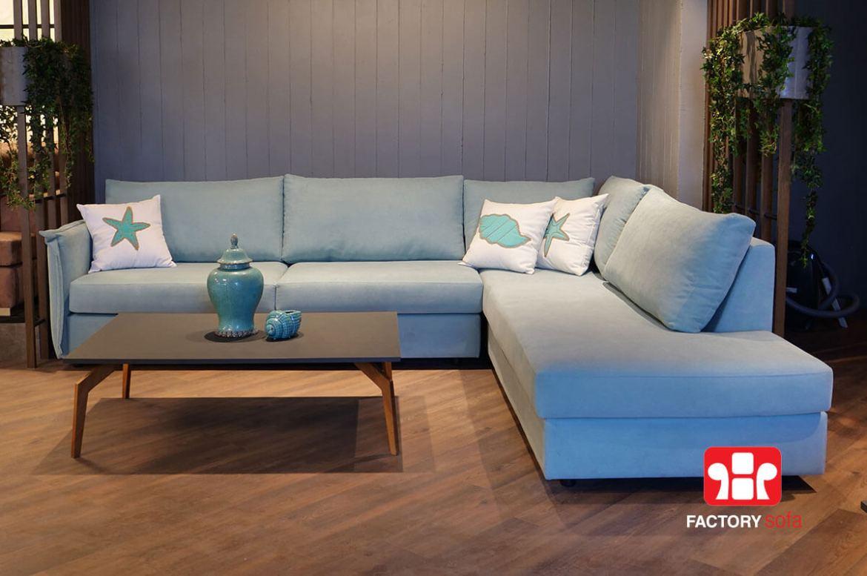 Γωνιακό Σαλόνι Patmos | Σαλόνια Καναπέδες Factory Sofa