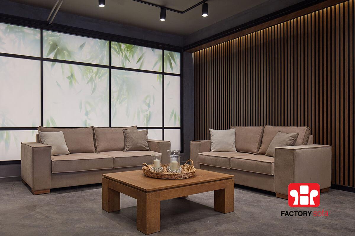 Σαλόνι Τριθέσιο Διθέσιο CHANIA  Σαλόνια Καναπέδες Factory Sofa Προσφορές