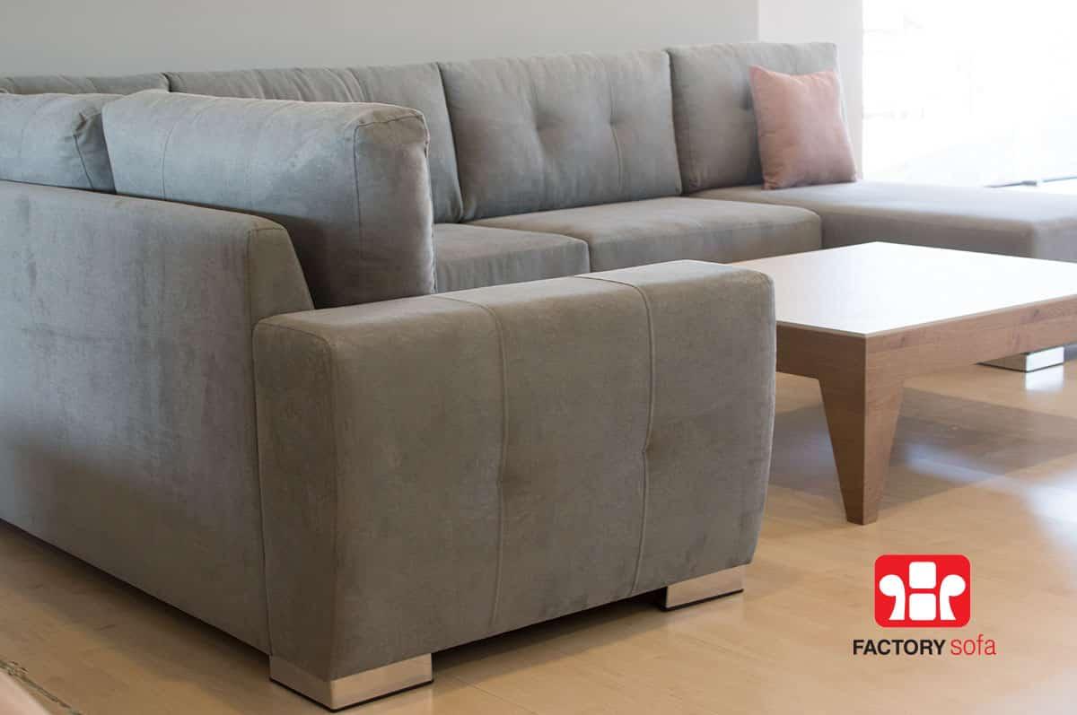Σαλόνι SITIA σε σχήμα Πι   Σαλόνια Καναπέδες Factory Sofa Προσφορές