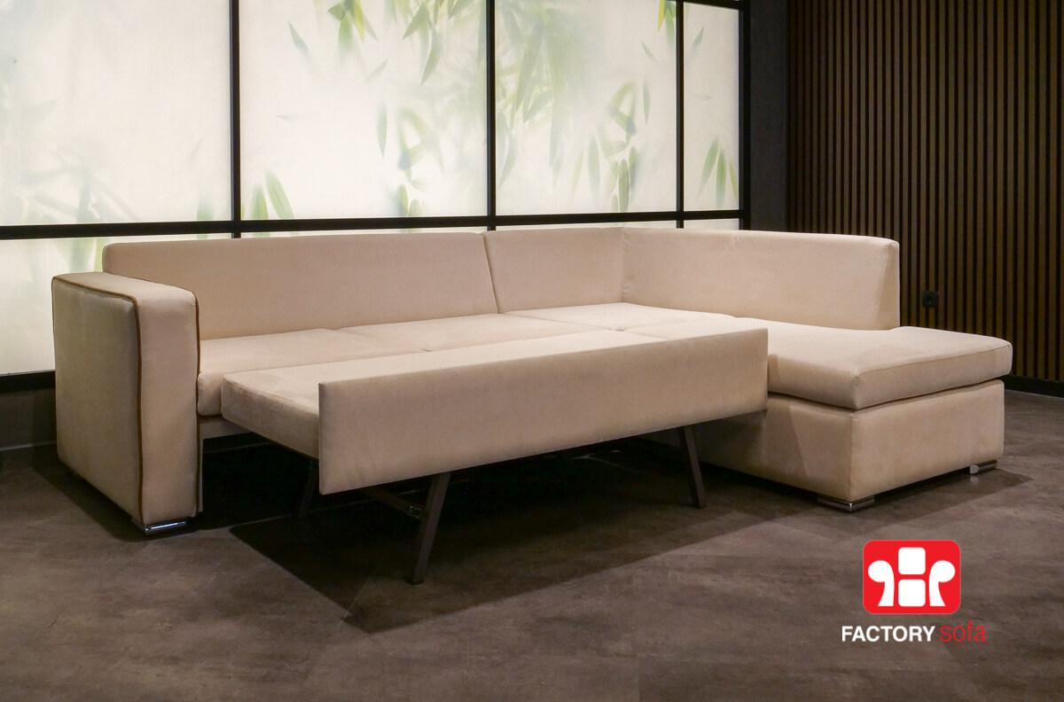 Γωνιακός Καναπές Κρεβάτι Rhodos | Σαλόνια Καναπέδες Factory Sofa Προσφορές