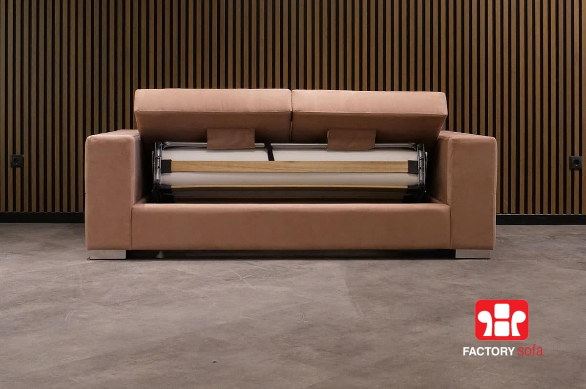 Sifnos QM Sofa Bed with Foldable Mechanism
