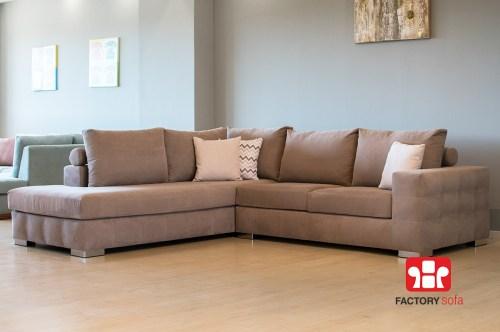 Γωνιακός καναπές κρεβάτι Amorgos QM με αναδιπλούμενο μηχανισμό