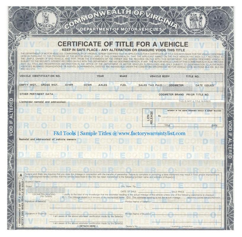 Kentucky Department Motor Vehicles