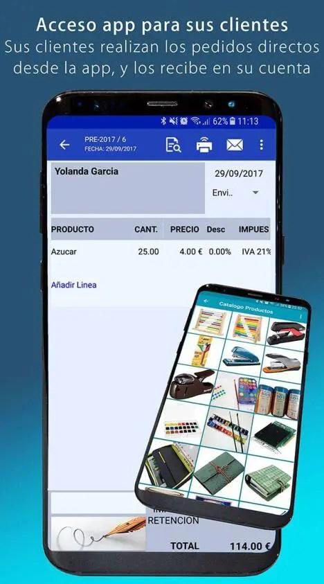 Acceso app para sus clientes