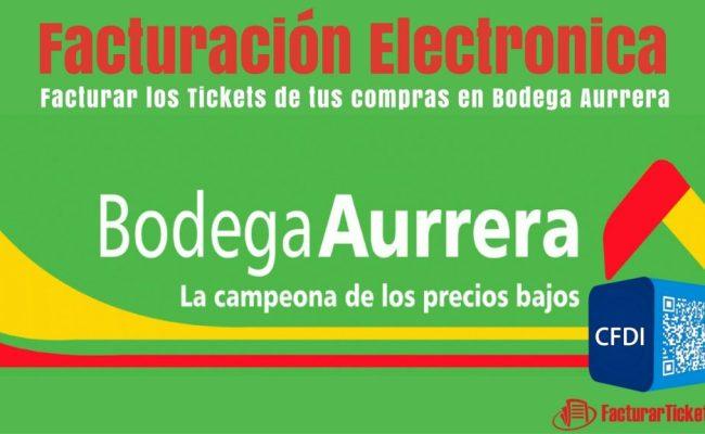 Bodega Aurrera Facturacion En Linea Facturar Tickets