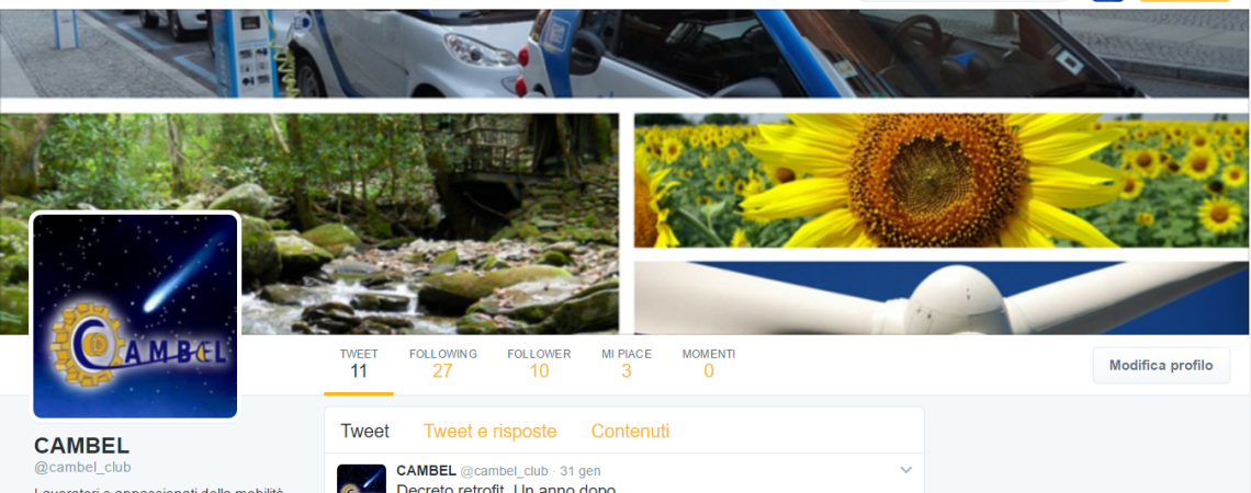 Pagina Twitter CAMBEL