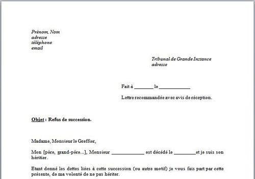 exemple lettre procuration administrative