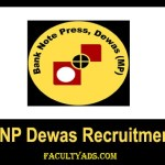 Bank Note Press Dewas Recruitment 2019