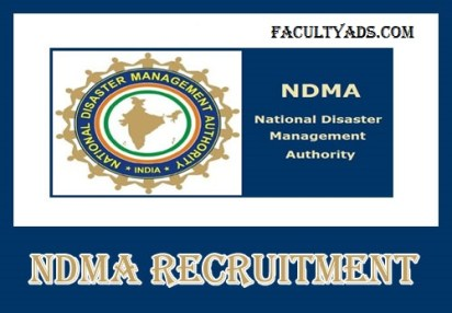 NDMA Recruitment 2019