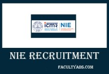 NIE Recruitment 2019